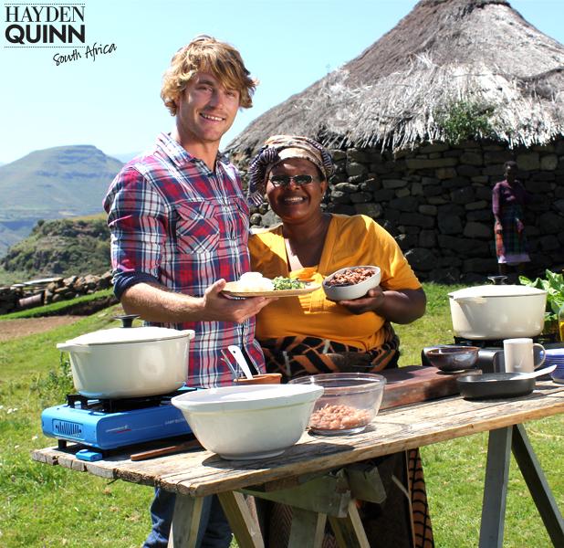 Hayden Quinn in Lesotho!