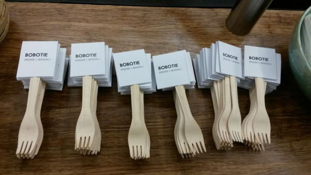 Babotie forks