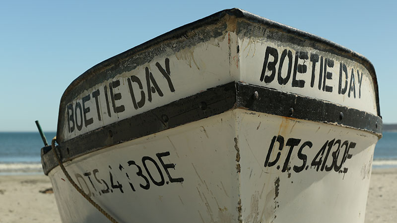 Boat on the Paternoster beach