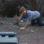 Hayden crawling like a leopard
