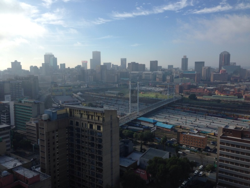 View of Johannesburg
